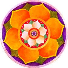 Mandala - Simbolog a Sagrada 110 Saree Painting, Lotus Painting, Mandala Painting, Pottery Painting, Ceramic Painting, Pottery Art, Mandala Art Lesson, Mandala Drawing, Lotus Mandala