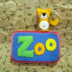 Zoo Tin for 4 Pocket Plushies  FREE by MockingbirdWorkshop on Etsy, $20.00