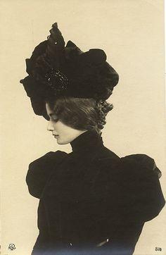 Cléo de Mérode (París, 1875 - 1966), dancer