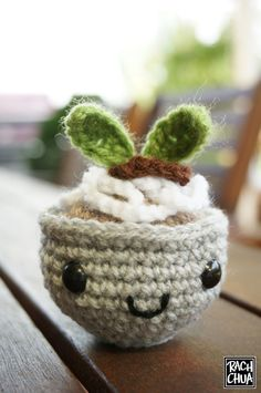 Amigurumi Food: Little Bowl of Pho (a Vietnamese Noodle Dish) - Free Pattern