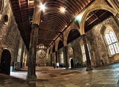 Winchester Great Hall. This is the Great Hall, all that is left of the Castle in Winchester, built in 1235.