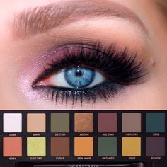SUBCULTURE PALETTE TUTUTORIAL | ABH SUBCULTURE PALETTE | PINK & GREEN EYESHADOW LOOK