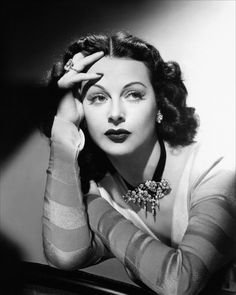 Hedy Lamarr, beautiful and very smart. Developed and patented the precursor to GPS and cellphone communications technology