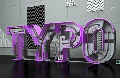 Superb 3D Typography by RDN Studio