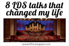 8 LDS Talks that Changed my Life | A Year of FHE