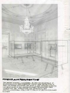 die Skizze (c) Arch. Hornek Albertina Wien, Design Studio, Furniture, Home Decor, Sketch, Architecture, Decoration Home, Room Decor, Home Furnishings