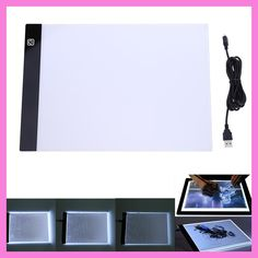 VKTECH Digital Tablet 13.15x9.13inch A4 LED Artist Thin Art Stencil Drawing Board Light Box Tracing Table Pad