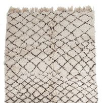 Un tapis à losanges