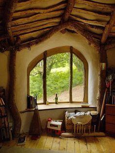 How to build a hobbit house    miniature inspiration