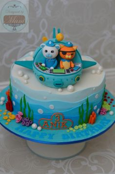 Octonauts Birthday cake - Cake by designed by mani