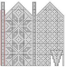 Bilderesultat for strikke diagram Knitted Mittens Pattern, Knit Mittens, Mitten Gloves, Knitting Patterns, Diy And Crafts, Diagram, Wool, Charts, Stitches