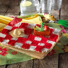 Everyone loves a picnic. Frost up these checkered blankies for a picnic-perfect dessert your kids will love.