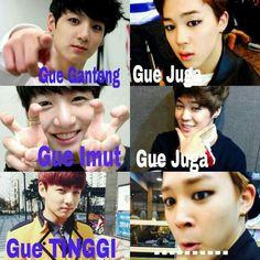 Tumblr Korea, Cute Memes, Funny Memes, Cartoon Jokes, Bts Quotes, Me Too Meme, Bts Members, Foto Bts, Jikook