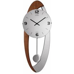 Dizajnové kyvadlové nástenné hodiny JVD NS15021/ 11, 58cm   nástenné hodiny Clock, Retro, Wall, Home Decor, Watch, Decoration Home, Room Decor, Clocks, Walls