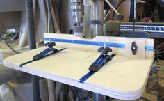 Check out David Radtke's shop-made drill press table plans. This DIY woodworking project will add tons of versatility to your drill press.