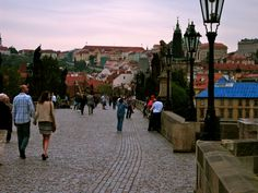 A Stroll at Dusk Praha, Czech Republic Czech Republic, Dusk, Over The Years, Street View, Places, Photography, Fotografie, Photography Business, Photo Shoot