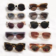 Sunglasses for days!