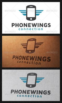 Wings Mobile Logo Template - Objects Logo Templates