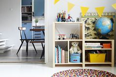 Lundia Classic is great for kids and adults. Style it the way you like it! Lund, Corner Desk, Shelving, Kids Room, Bookcase, Homes, Children, Classic, Projects