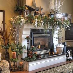 The Perfect Country Fireplace