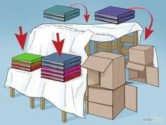 How to Make a Blanket Fort. Blanket forts are easy to build and they provide countless hours of fun for children and adults. You can make your fort with everyday household items like blankets, sheets, chairs, and curtain rods. Sleepover Fort, Fun Sleepover Ideas, Sleepover Activities, Activities For Kids, Activity Ideas, Cardboard Box Fort, Make Blanket, Blanket Forts, Sofa Fort