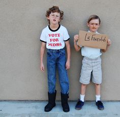 Isn't this the most adorable Napoleon Dynamite you've ever seen?