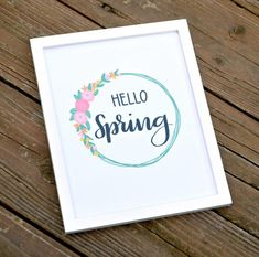 Welcome Spring with this pretty floral printable, or create your own version using the tutorial and practice pages provided! Hand Lettering Practice, Brush Lettering, Calligraphy Welcome, Calligraphy Quotes, Spring Drawing, Hand Lettering Tutorial, Welcome Letters, Floral Printables, Drawing Quotes
