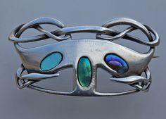 ARCHIBALD KNOX Liberty & Co Art Nouveau Brooch image 3