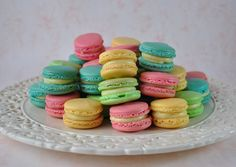 Macaroon Recipe from Trissalicious