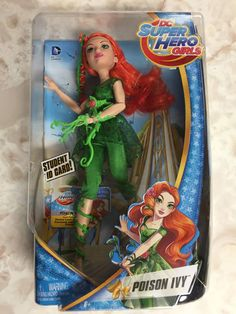 DC Super Hero Girls Doll Review: Poison Ivy http://geekxgirls.com/article.php?ID=6809