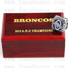 Custom AFC 2013 Denver Broncos American Football Championship Ring #peytonmanning #denverbroncos #broncos #broncosnation #gobroncos #broncoscountry #unitedinorange #broncosup #broncosfans #broncosbaby #broncoswin #broncosfan #broncoscountry #championshipring #superbowl #NFL #football #nflmemes #footballgame #nfldraft #superbowl50 #superbowl51 #nfl2016 #nflfootball