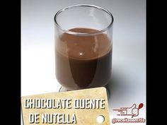 Chocolate quente de Nutella em 15 segundos - YouTube
