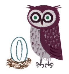 'O is for Owl' by Robin Hursthouse