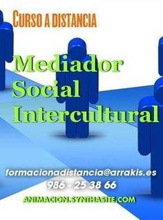 Vendo Curso mediador intercultural -educador con inmigrantes- a distancia...