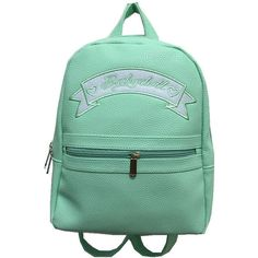 Babydoll mini backpack ($65) ❤ liked on Polyvore featuring bags, backpacks, rucksack bags, decorating bags, backpack bags, day pack backpack and zipper bag
