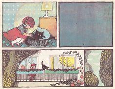 Illustration by Hanna Krajnik, Author: Marek Głogowski, Title: Tajemniczy gość