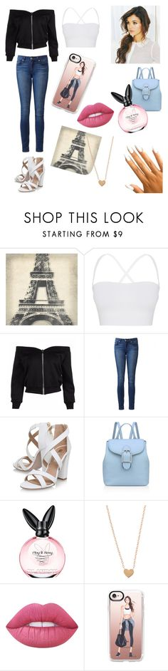 """""""Go to a Party🎉"""" by jerney-quotes ❤ liked on Polyvore featuring Leftbank Art, Theory, Paige Denim, Miss KG, Anne Klein, Lime Crime and Casetify"""