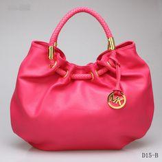 Beautiful Michael Kors Shoulder Hobo Bag Red Genuine Leather by www.wholesalemk.com