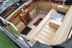 Rolls-Royce State Landaulette by Mulliner Park Ward (design Rolls Royce Phantom Interior, Rolls Royce Limousine, Best Muscle Cars, Nissan Rogue, Fire Trucks, Luxury Cars, Dream Cars, Car Seats, Classic Cars