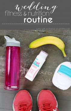 My Wedding Fitness Nutrition Routine Fat girl six pack should be a MUST in a brides routine!