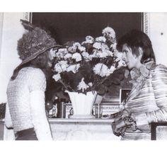 Wayne County & David Bowie at The Plaza Hotel,Carnegie Hall.New York.28/9/72.
