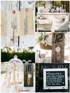 Inspirational Wedding Ideas #76: Unlock Your Future - see more inspiration at diyweddingsmag.com #diywedding