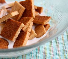 Sweet Cinnamon Cereal or Graham Crackers  @Zenbelly