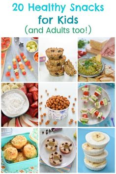 20 Healthy Snack Ideas for Kids (And Adults too!) Healthy Snacks for kids and adults – 20 fun and easy snack ideas and recipes Healthy Cat Treats, Healthy Food List, Healthy Pastas, Healthy Snacks For Kids, Easy Snacks, Healthy Baking, Healthy Foods To Eat, Snacks Ideas, Pastas Recipes