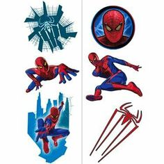 It's coming up! -   Spider-Man Temporary Tattoos 2 sheets , 1 pkg / http://www.holidaygoodness.com/spider-man-temporary-tattoos-2-sheets-1-pkg/