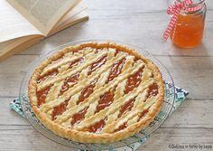 Crostata alla marmellata classica, ricetta facile e veloce passo passo Italian Cookies, Italian Desserts, Pie Decoration, Vol Au Vent, Pasta, Cake Batter, Antipasto, I Foods, Apple Pie