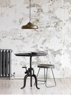 Industrial Crank Stool