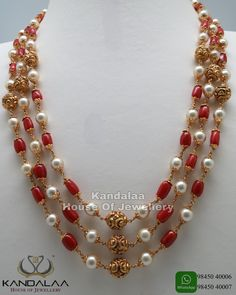 Pearl Necklace Designs, Gold Earrings Designs, Gold Jewellery Design, Pearl Jewelry, Wedding Jewelry, Gold Jewelry, Indian Jewelry, Diamond Jewellery, Wedding Accessories