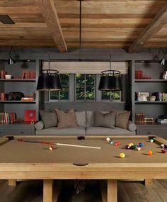 Shelves, sofa