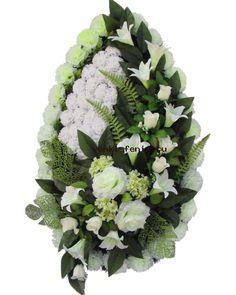 Funeral Flowers, Arte Floral, Floral Arrangements, Floral Design, Floral Wreath, Gift Wrapping, Wreaths, Gifts, Flower Arrangements Simple